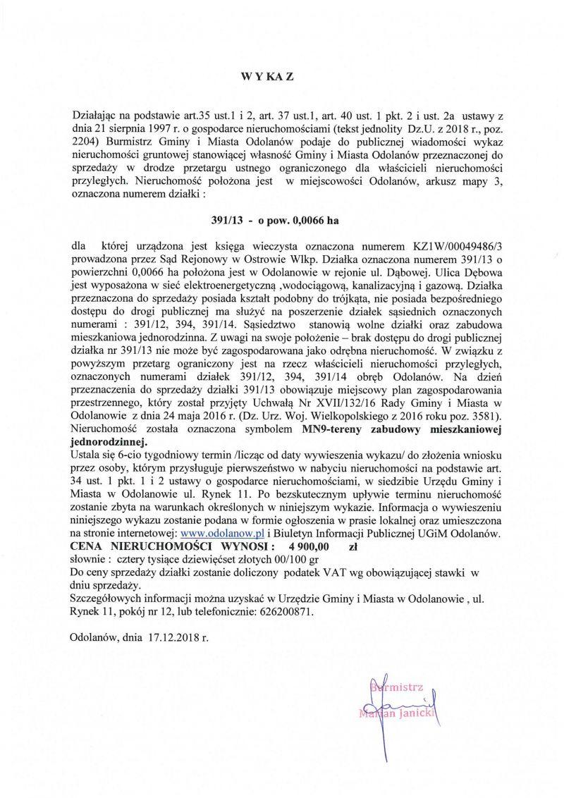 Aktualności Gminne 2018 Gmina I Miasto Odolanów